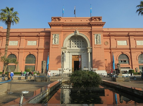 Egyptian Museum of Antiquities, Cairo Photo: DJMcCrady on Flickr