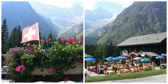 Auberge de Glaciers at La Foully on the Tour de Mont Blanc Photo: Heatheronhertravels.com
