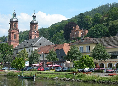 A view of Miltenberg from your river cruise Photo: Steve Masiello on Flickr