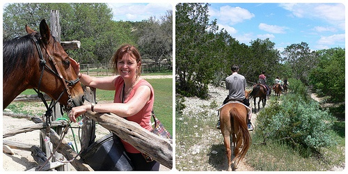Riding on Silver Spur Ranch, Bandera,Texas Photo: Heatheronhertravels.com