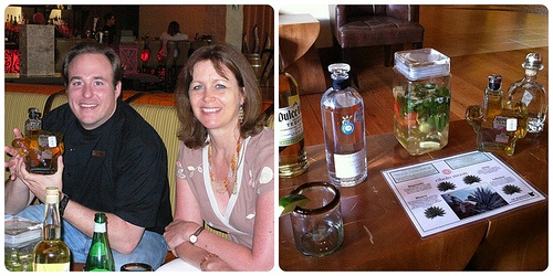 Tequila tasting, Cibolo Moon at JW Marriott San Antonio Hill Country, Texas Photo: Heatheronhertravels.com