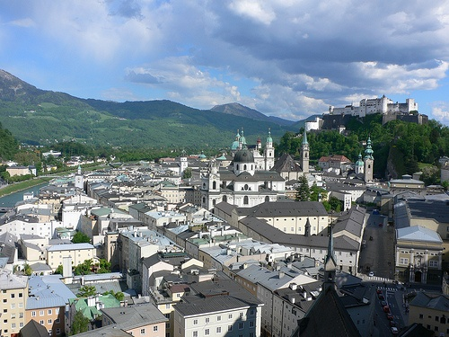 A view of Salzburg, Austria Photo: Heatheronhertravels.com