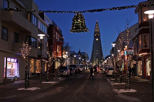 Christmas in Reykyavik Photo: kjelljoran on Flickr