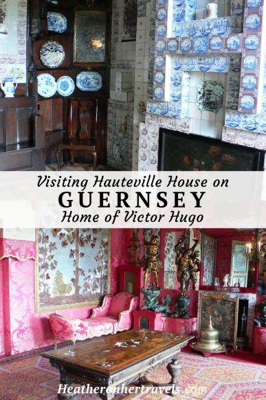 Visiting Hauteville House on Guernsey