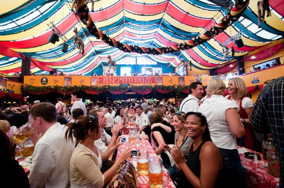 The Munich Oktoberfest Photo: Weiko of Flickr