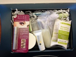 Total Beauty Collection Sample size products Photo: Allison Laypath