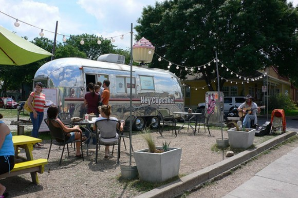 Food Trailers on South Congress, Austin Photo: Heatheronhertravels.com