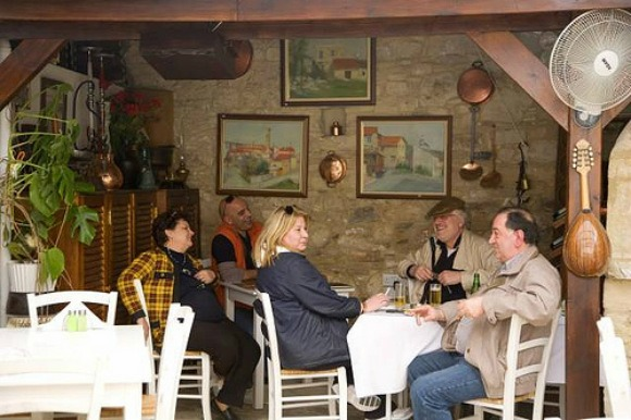 Stop for a meal in a local Taverna Photo: Monarch