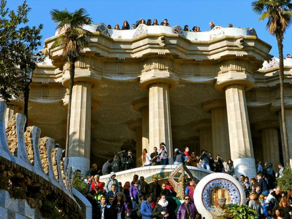 Parc Guell in Barcelona Photo:  Sarah_Ackerman of Flickr
