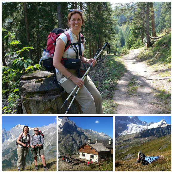 Walking in the Alps on the Tour de Mont Blanc Photos: Heatheronhertravels.com