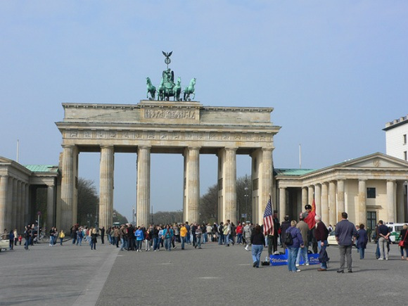 The Brandenburg Gate in Berlin Photo: Heatheronhertravels