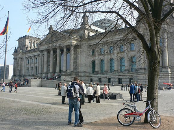 The Reichstag in Berlin Photo: Heatheronhertravels.com