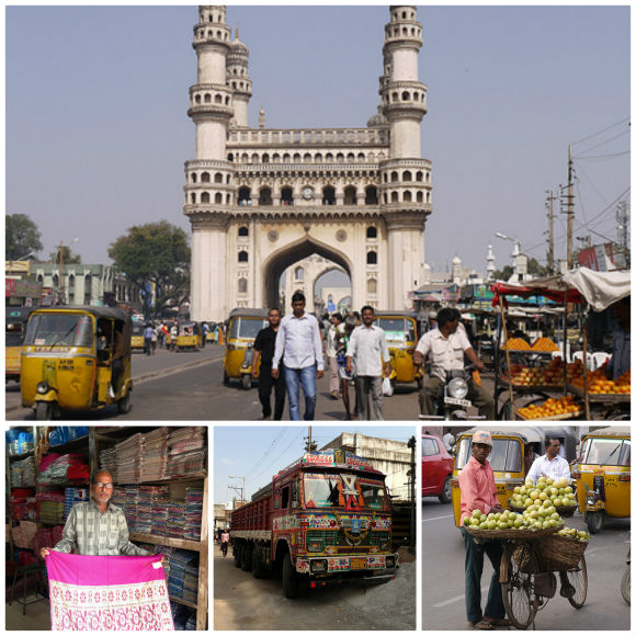 Charminar Monument, Hyderabad, India Photo: Heatheronhertravels.com