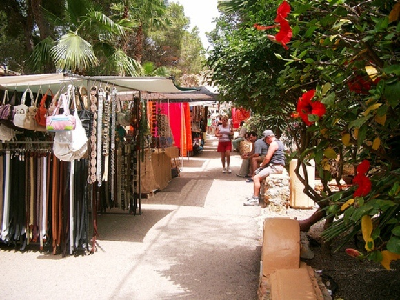 Las Dalias Hippymarket. Ibiza Photo: janten of Flickr