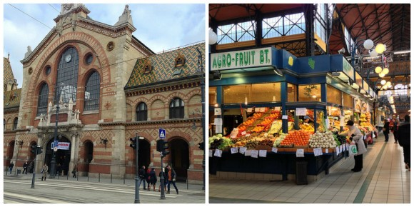 Central Market, Budapest Photo: Heatheronhertravels.com