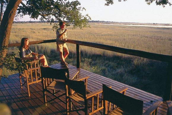 An African honeymoon at Camp Moremi, Botswana Photo: http://www.mahlatini.com/ published at Heatheronhertravels.com