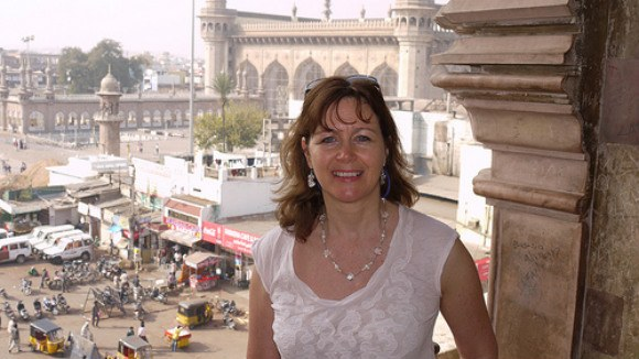 View from the Charminar monument, Hyderabad, India Photo: Heatheronhertravels.com