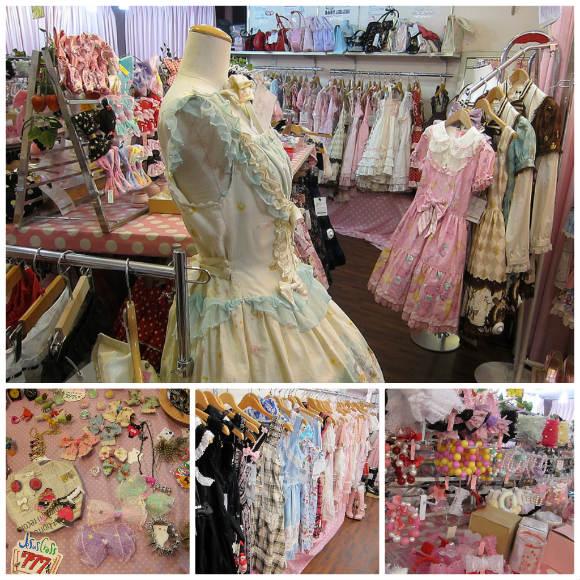 Cute Lolita fashions in Tokyo Photo: LaCarmina.com
