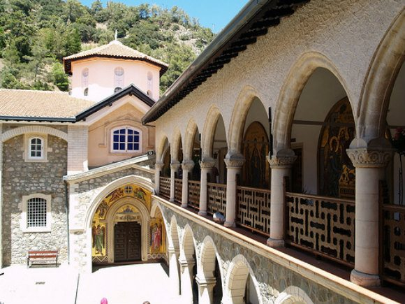 Kykkos Monastery on Cyprus Photo:  nilexuk of Flickr
