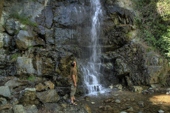 Discovering the waterfalls of Cyprus Photo: sweenpole2001 on Flickr