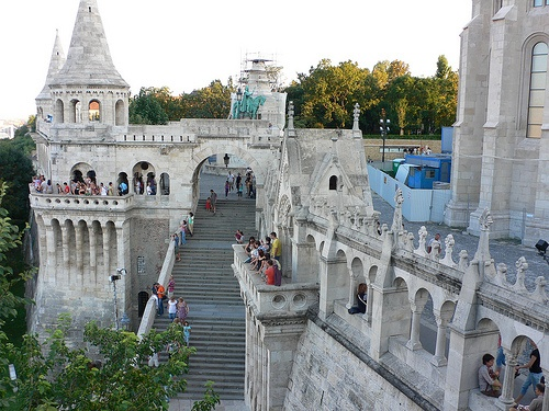 The Fisherman's Bastion, Budapest Photo: Heatheronhertravels.com