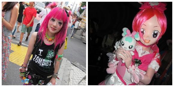 Harajuku girls in Tokyo Photo: LaCarmina.com