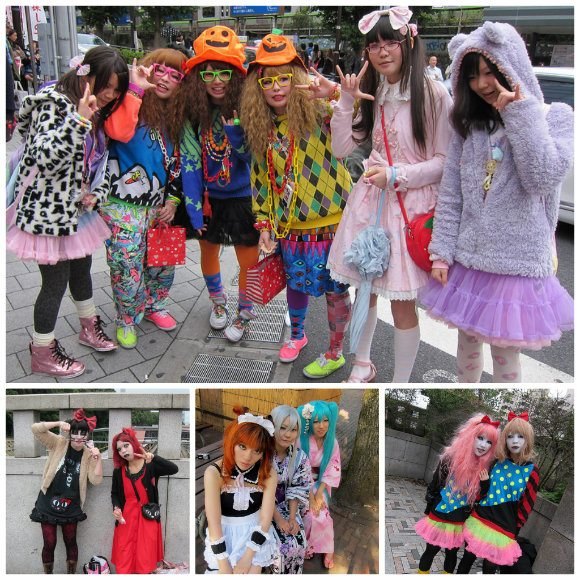 Harajuku and street fashions in Tokyo Photo: LaCarmina.com
