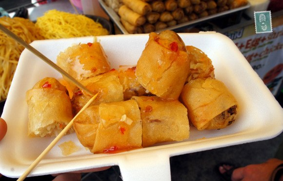 Spicy spring rolls in Thailand Photo:  Agness Walewinder