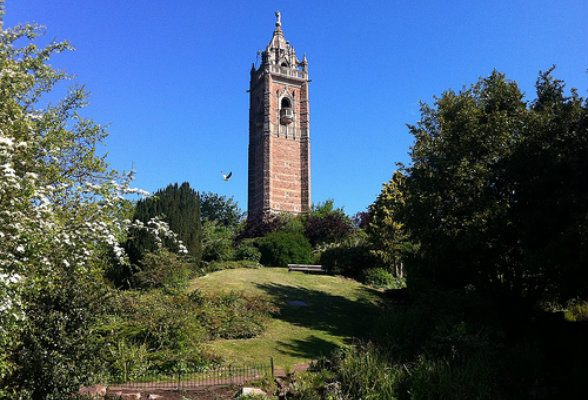 Cabot tower in Brandon Hill Park, Bristol Photo: Heatheronhertravels.com