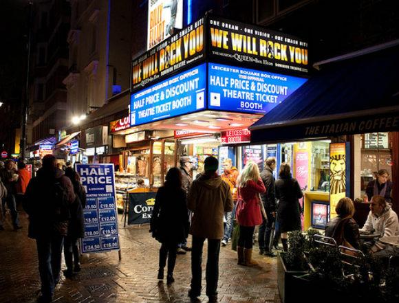 Theatreland, London Photo: Llamnudds on Flickr