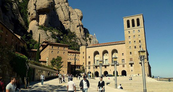Visit the Monastery at Montserrat, Spain Photo: BCN Travel