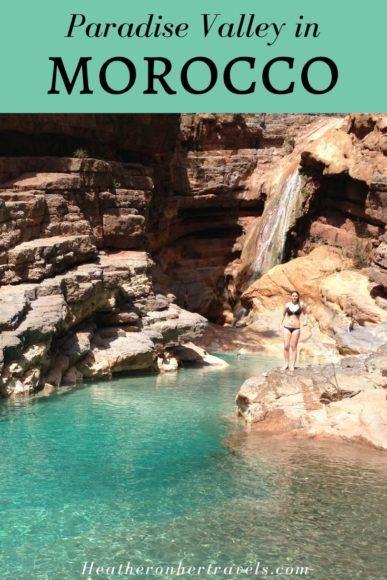Paradise Valley in Morocco near Agadir