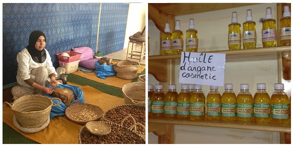 The Argan oil co-operative on the way to Paradise Valley Photo: Heatheronhertravels.com