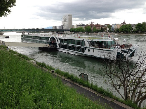 The Amadeus Princess at Basel with Lüftner Cruises Photo: Heatheronhertravels.com
