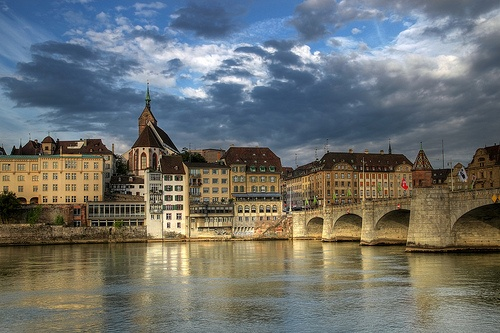Basel where we start our Rhine River Cruise Photo: Lueftner Cruises