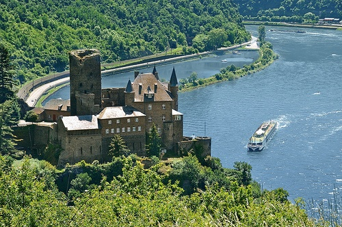 Castles on the Rhine Photo by Lueftner Cruises