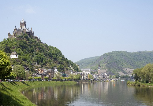 The Rhine at Cochem Photo: Lueftner Cruises