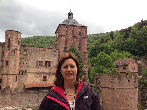 The ruined castle at Heidelberg with Lüftner Cruises Photo: Heatheronhertravels.com