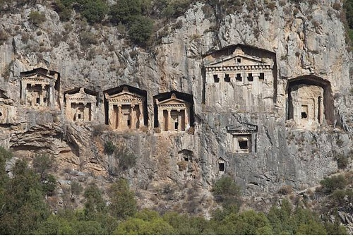 Rock Tombs of Kaunos, Dalyan
