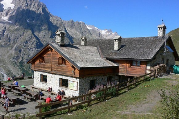 Rifugio Bonatti on the Tour de Mont Blanc Photo: Heatheronhertravels.com
