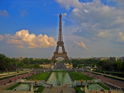 Eiffel Tower in Paris by John Vosburgh on Flickr