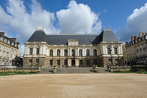 Parlement de Bretagne in Rennes by Herve Corcia on Flickr