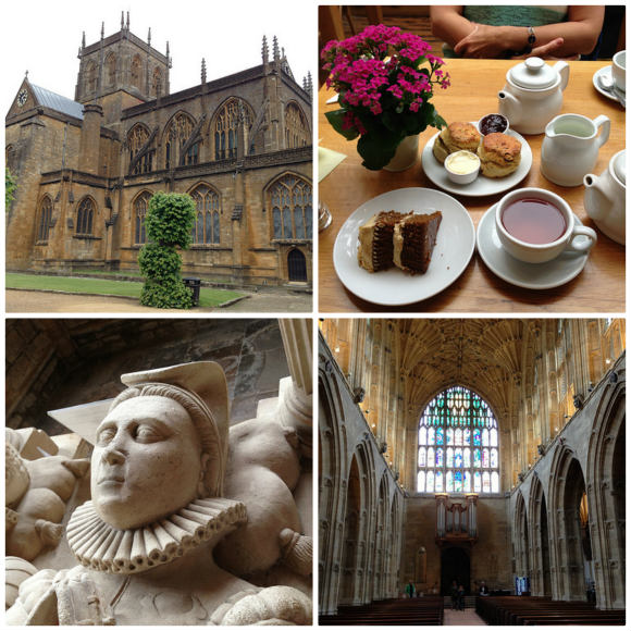 Sherborne Abbey and Dorset cream tea Photo: Heatheronhertravels.com
