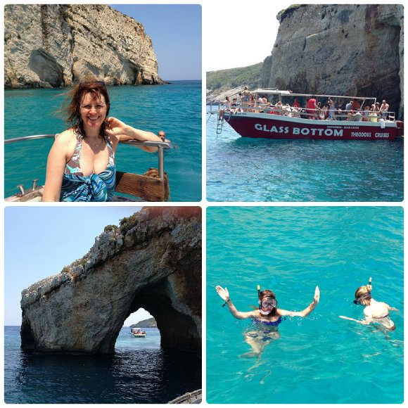 Boat trip to the Blue Caves on Zante Photo: Heatheronhertravels.com