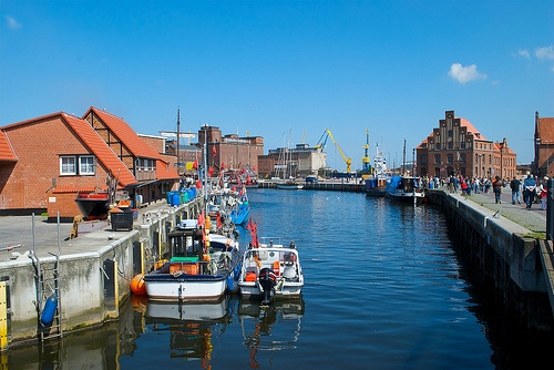Harbour of Wismar Photo: nydiscovery7 on Flickr