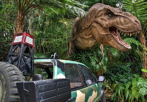 Jurassic Park at Universal Studios Islands of Adventure Photo by Marco Becerra on Flickr