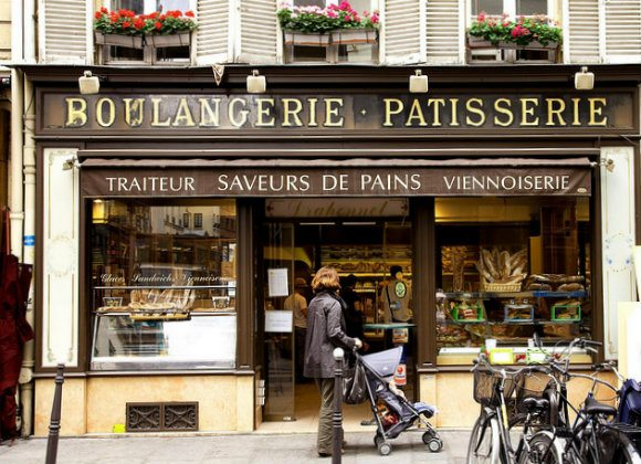 Patisserie in Marais, Paris Photo: Don Ward on Flickr