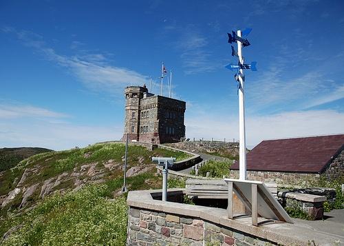 St John's signal hill in Canada