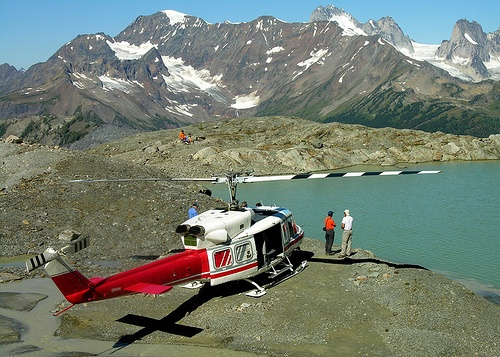 Heli-hiking away from the crowds in Canada