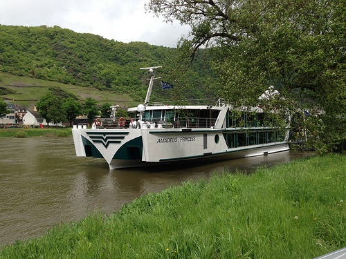 The Amadeus Princess at Cochem with Lueftner Crusies Photo: Heatheronhertravels.com